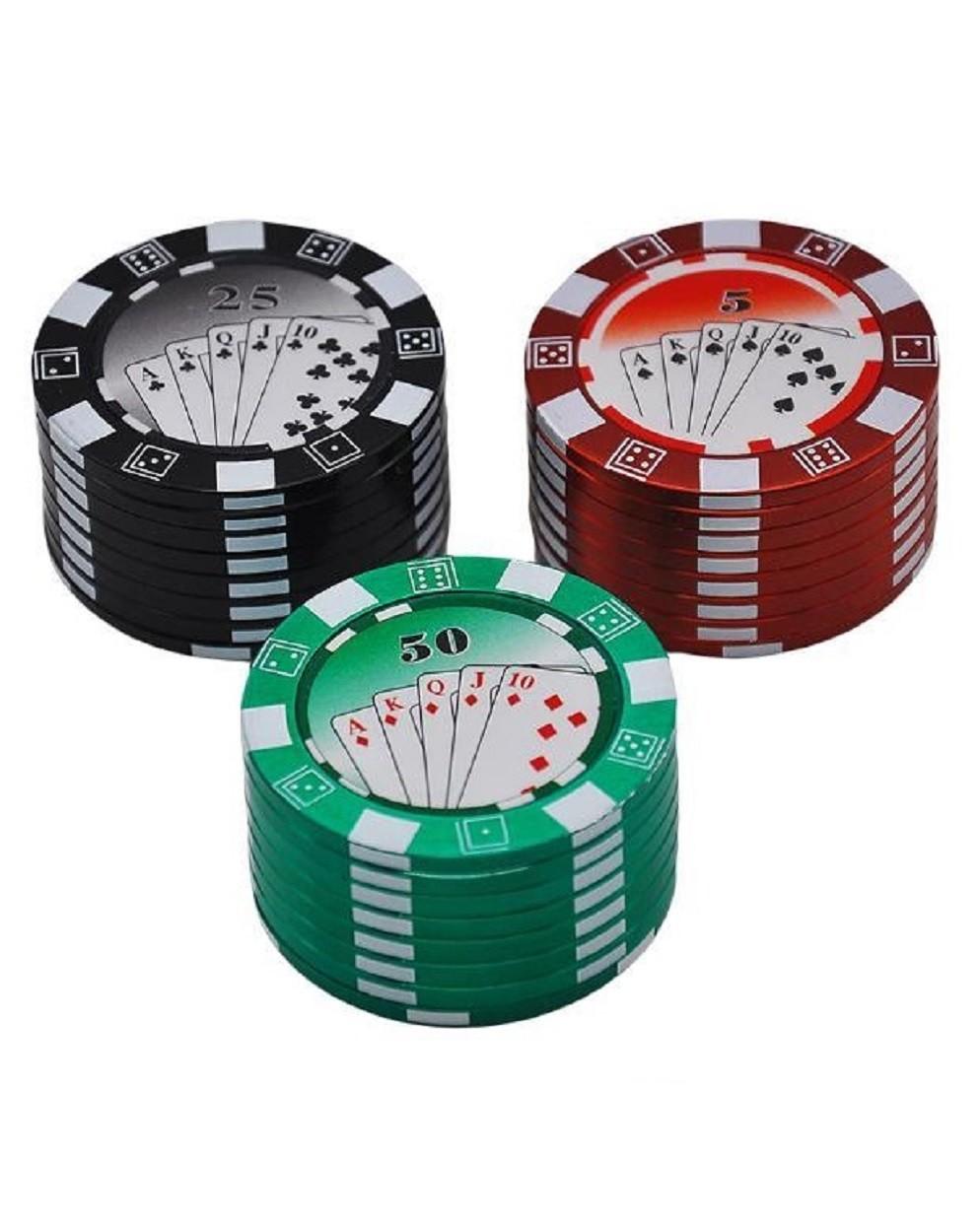 Двухсекционный гриндер Poker Chip (5 см)