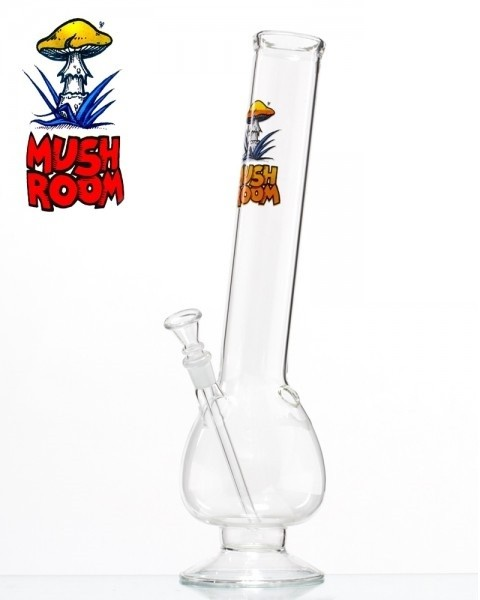 Изогнутый бонг из стекла Mushroom Bend Bulb