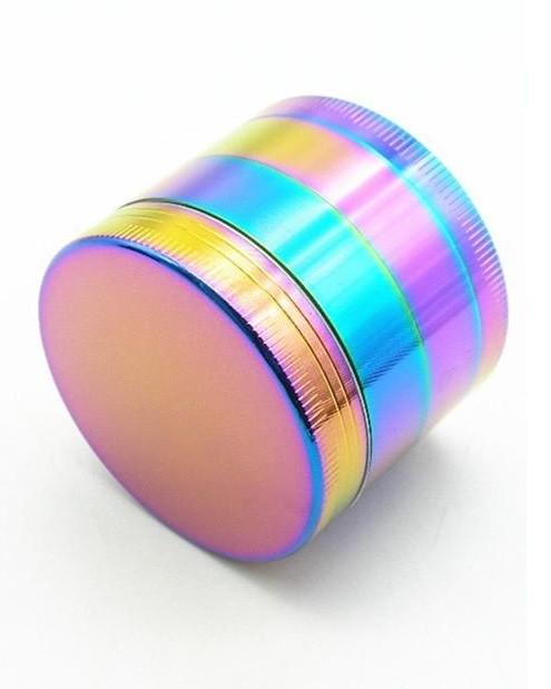 """Металлический трехсекционный гриндер """"Rainbow"""" (6 см)"""