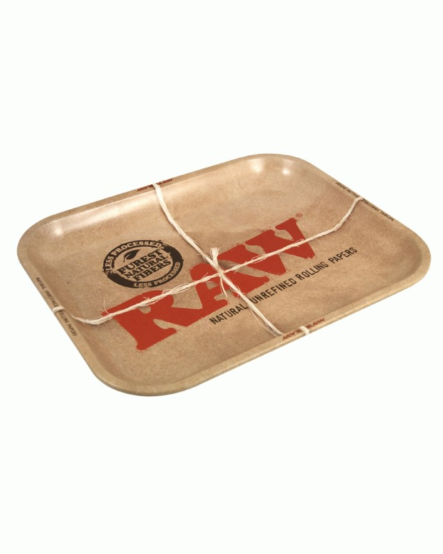 Большой металлический лоток Raw