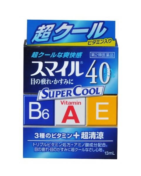 Капли для глаз 40 EX Super Cool
