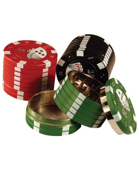 Двухсекционный гриндер Poker Chip