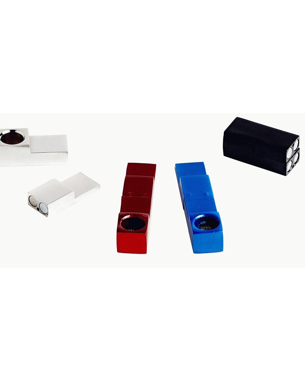 Металлическая трубка для курения на магнитах