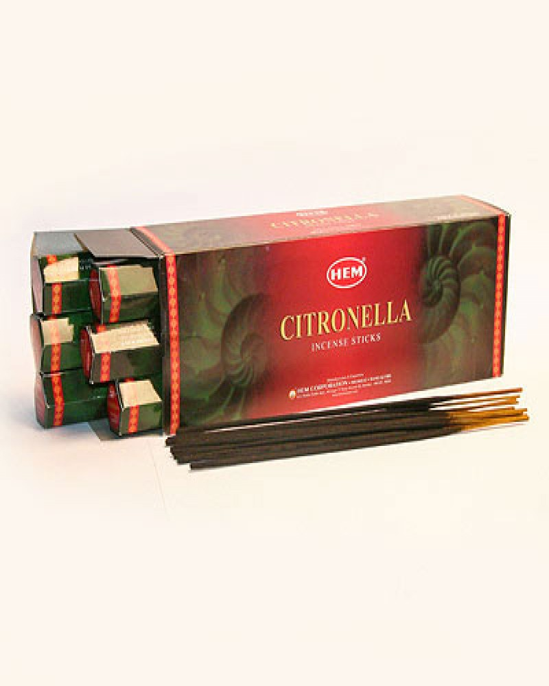 Благовония HEM Citronella - Цитрусовая смесь