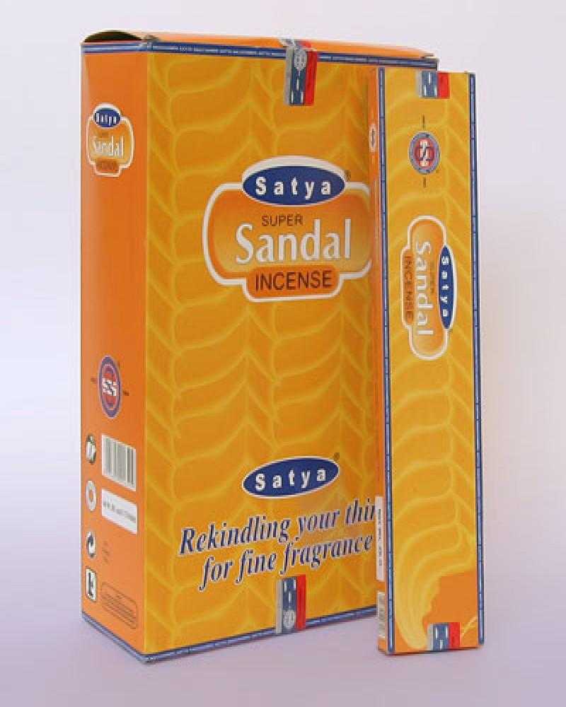 Индийские благовония Satya Super Sandal