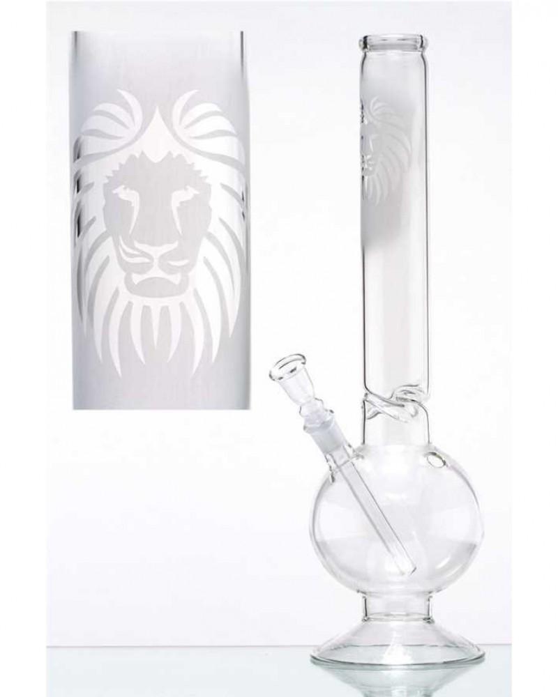 Матовый стеклянный бонг Rasta Lion