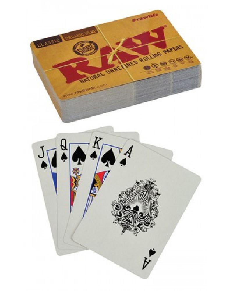 Игральные карты Raw