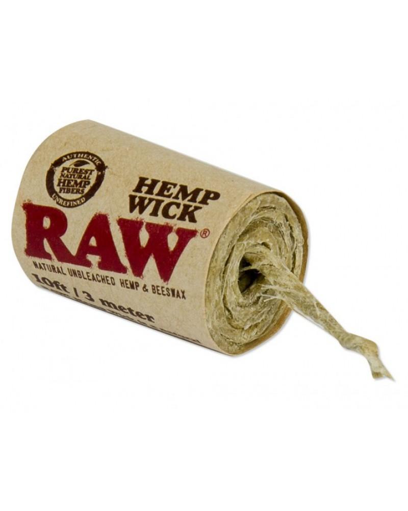 Фитиль RAW Hemp Wick (300см)
