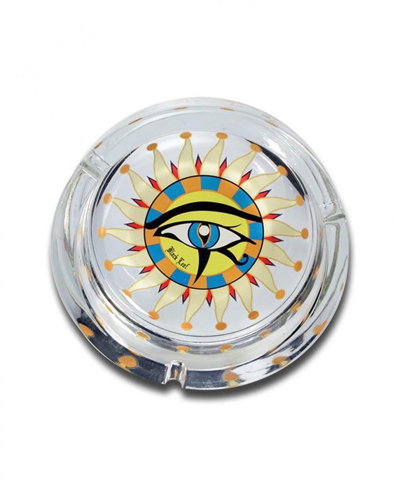 Стеклянная пепельница Horus Eye L