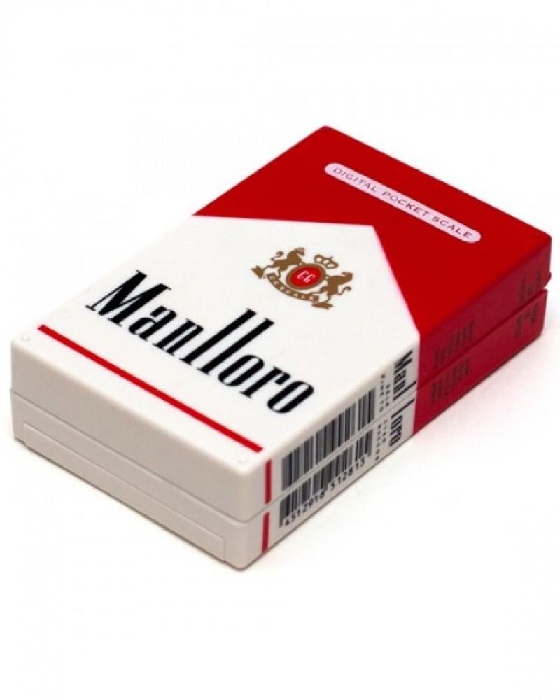Весы в виде пачки сигарет Manlloro 100гр*0,01гр