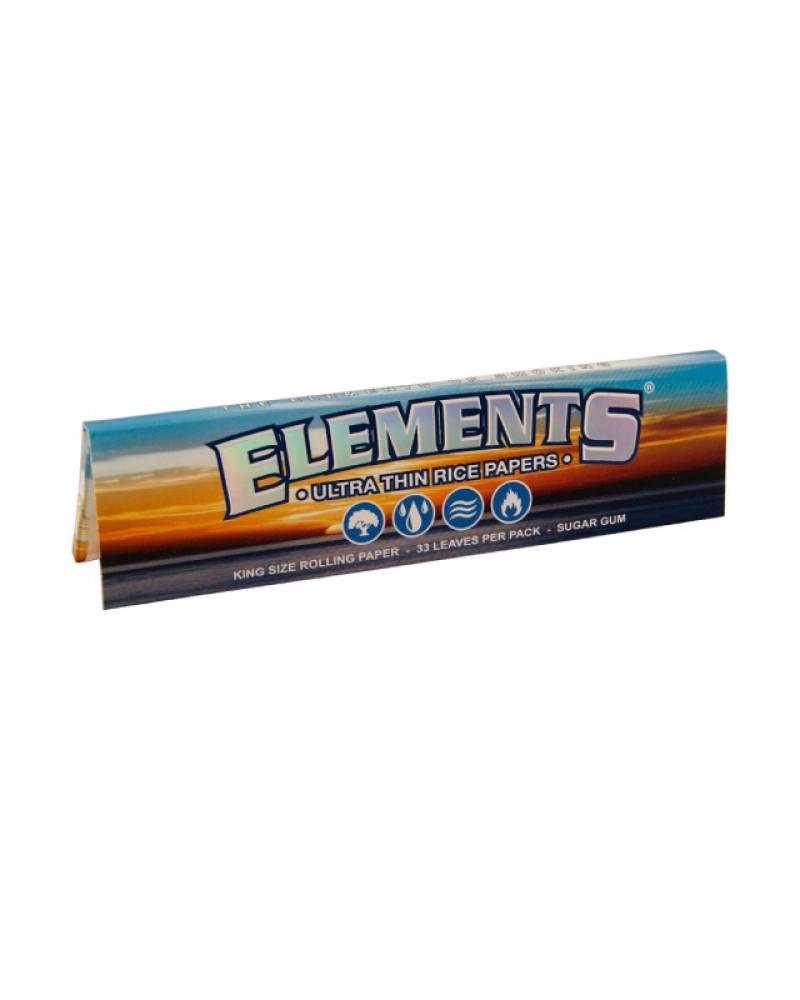 Рисовые бумажки Elements KingSize
