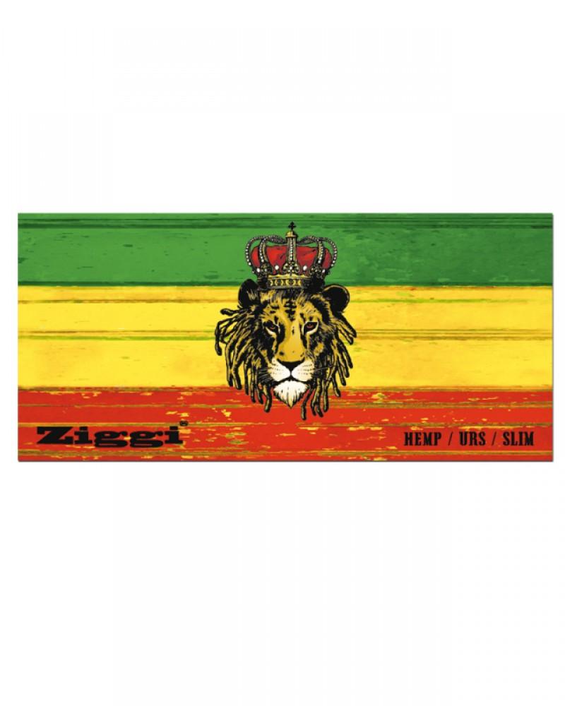 Раста бумажки Ziggi Rasta Lion KingSize Slim + фильтры