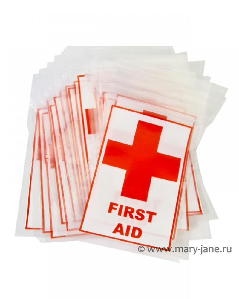 Оригинальные пакетики с рисунком First Aid