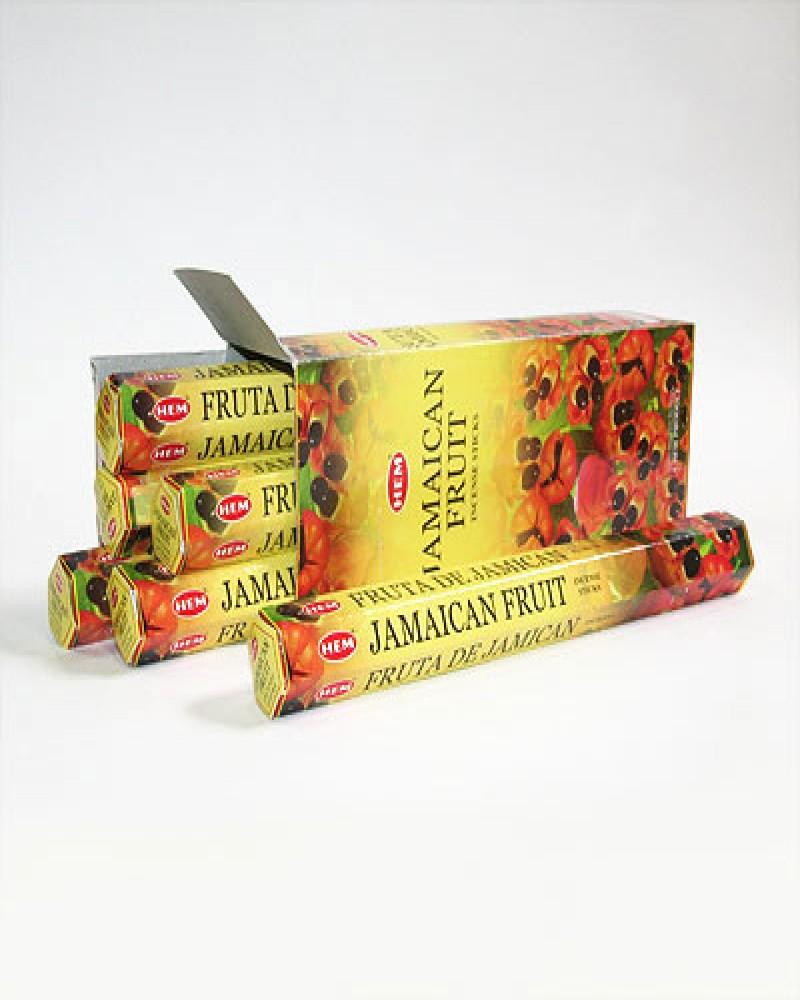 Благовония HEM Ямайский фрукт (шестигранник 20 гр)
