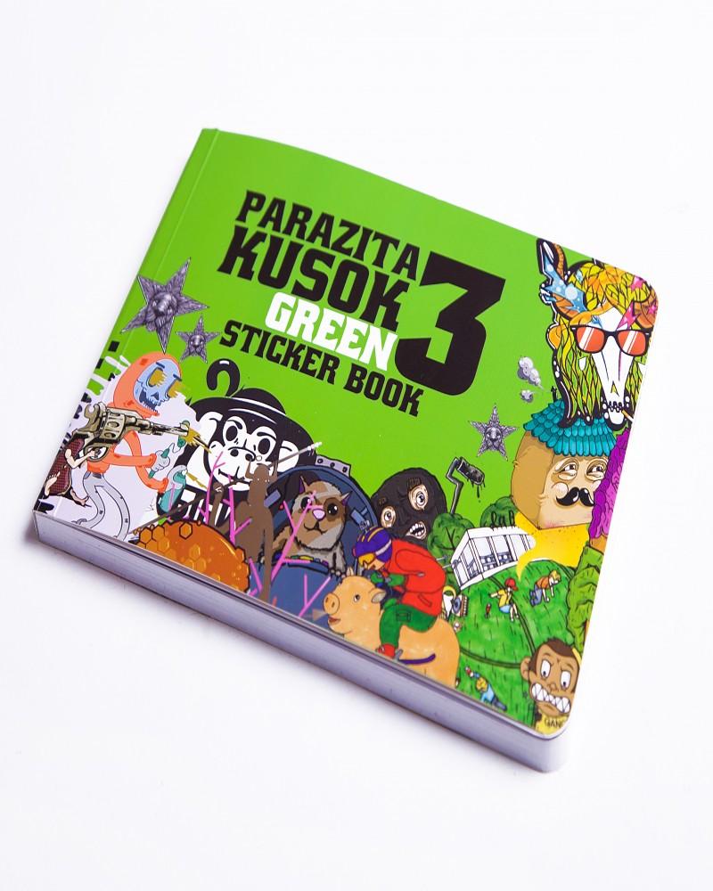 Альбом с наклейками ParazitaKusok 3