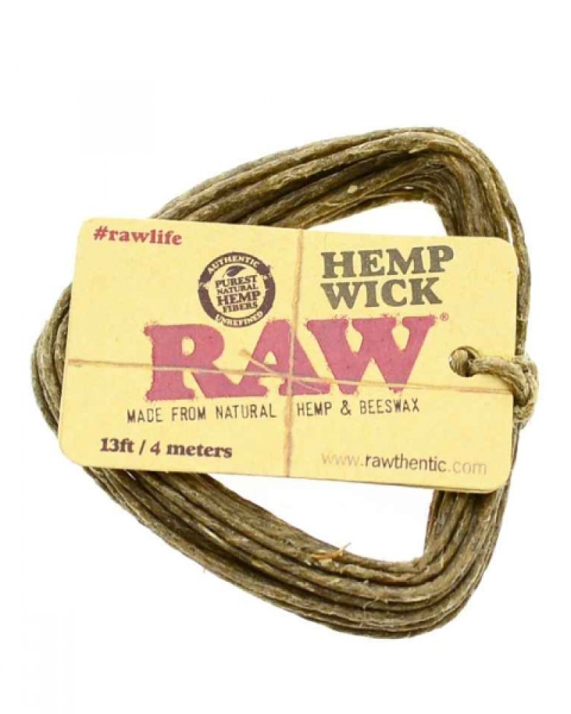 RAW Hemp Wick big