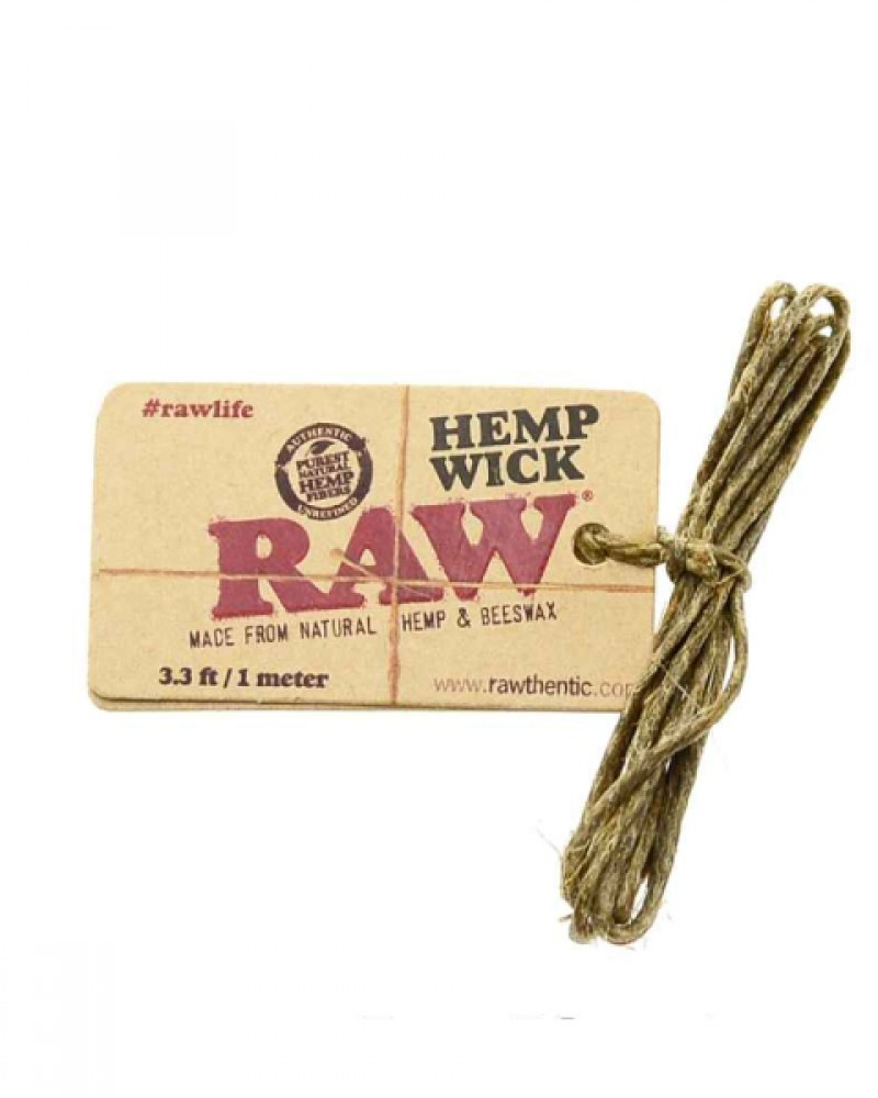 RAW Hemp Wick small