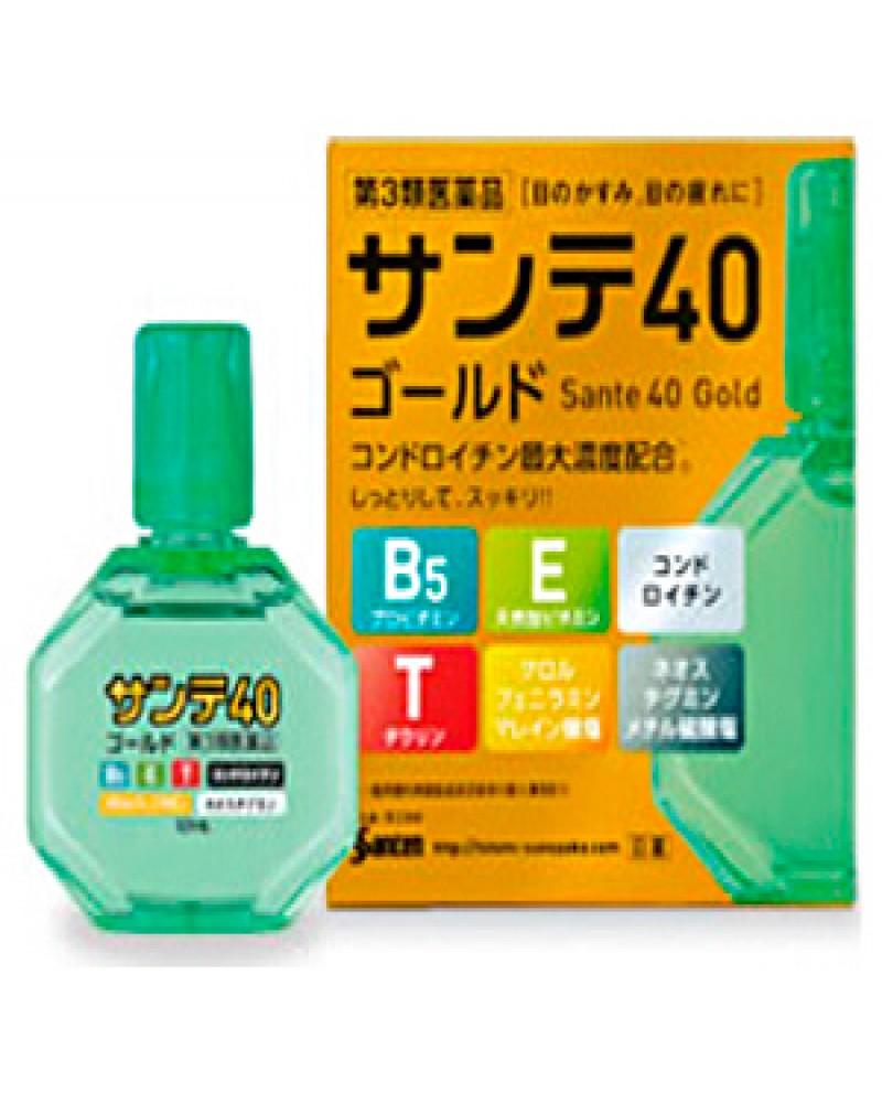 Капли для глаз Sante 40 Gold