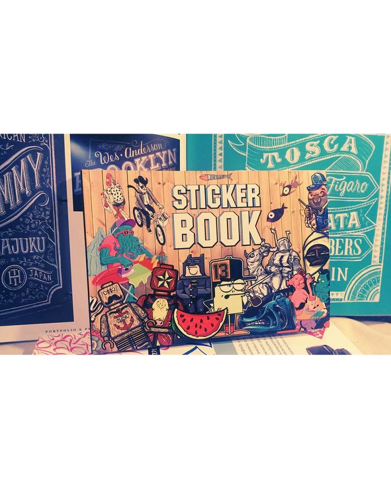 Альбом с наклейками StickerBook