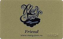 Бонусная карта Друзья Mary Jane